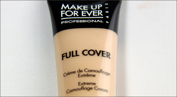 "Review: Make Up For Ever ""Full Cover"" Waterproof Concealer ..."