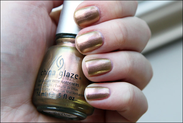 China Glaze Travel In Colour Top Coat Shimmer N 100
