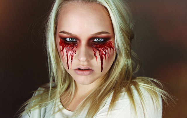 Makeup Tutorial Easy Bloody Mary Halloween