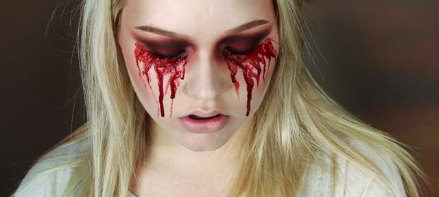 Makeup Tutorial: Easy Bloody Mary – Halloween   NikkieTutorials