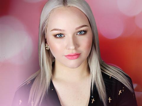 makeup tutorial natural glam with a pop  nikkietutorials
