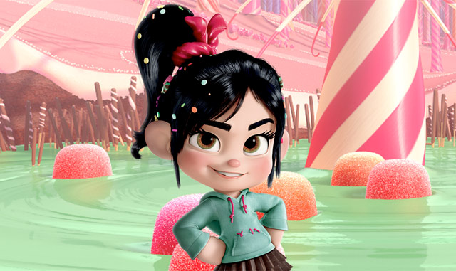 darn happy. Especially this little girl here: Vanellope von Schweetz