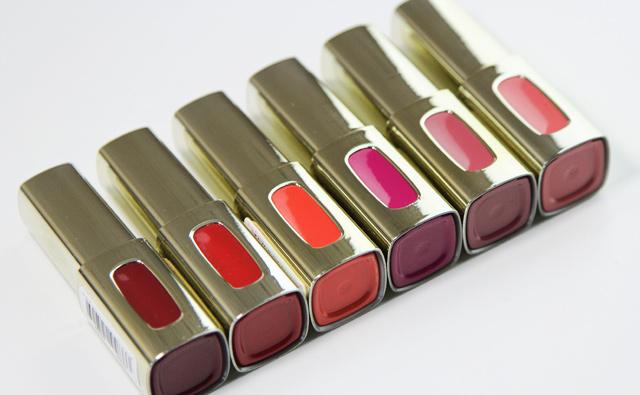 Review Swatches Loréal Extraordinaire Color Riche Liquid
