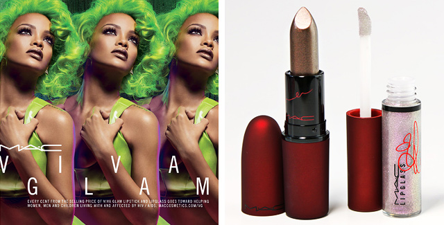 Many questions have crossed my mind ever since first seeing the new MAC Viva Glam Rihanna 2 set promo images. Is that lipstick black? brown? …no wait, grey?