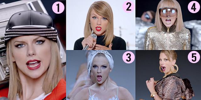 Taylor Swift Shake It Off Hair