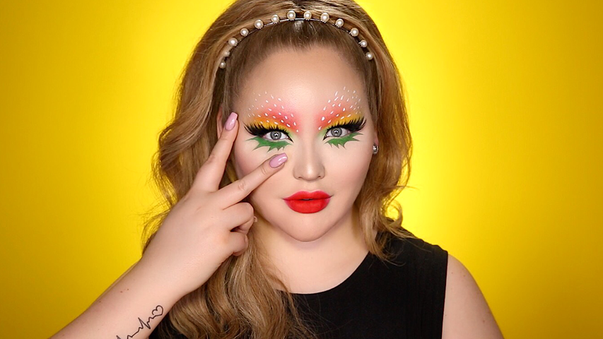 Strawberry Eye-Makeup SNAPCHAT Filter Inspired Tutorial
