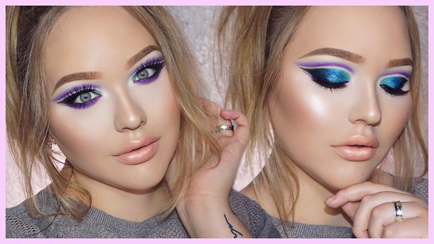 Zendaya Edgy Double Cut Crease Makeup Tutorial Nikkietutorials